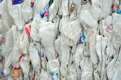 Recycling plastic Royalty Free Stock Photography