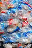 Recycling Plastic and bottles Stock Images