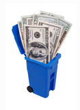 Recycling Saves Money Royalty Free Stock Photos