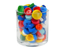 Recycling - Screw Caps Stock Photo