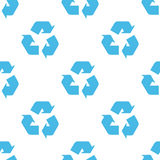 Recycling seamless pattern Royalty Free Stock Image