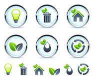 Recycling set Stock Images