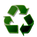 Recycling sign Royalty Free Stock Photo