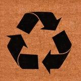 Recycling sign Stock Photos