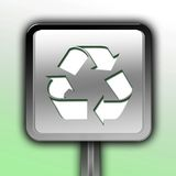 Recycling sign or symbol Stock Images