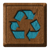 Recycling simbol Royalty Free Stock Photo