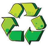 Recycling symbol Stock Photos