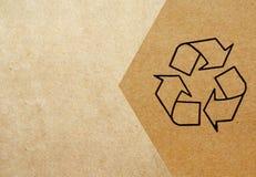 Recycling-Symbol Stockfoto