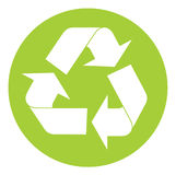 Recycling symbol Royalty Free Stock Photography