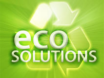 Recycling symbol. Eco environment friendly sustainability illustration Stock Photo