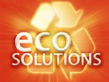 Recycling symbol. Eco environment friendly sustainability illustration Royalty Free Stock Image