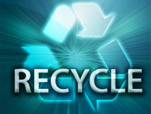 Recycling symbol Stock Images