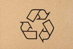 Recycling symbol Royalty Free Stock Images