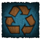 Recycling symbol 3d Stock Photo