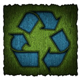 Recycling symbol 3d Stock Images