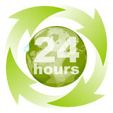 Recycling time Royalty Free Stock Photos