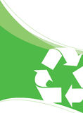 Recycling Vector Layout Stock Image