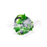 Recycling world Royalty Free Stock Photo
