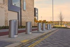 Recyclingskuilen onder de grond, Eddington, Noordwestencambridge Royalty-vrije Stock Afbeeldingen