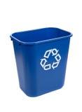 Recylce bin on a white background Stock Photo