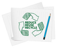 Recylce symbol Royalty Free Stock Images