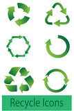 Recyle Icons Royalty Free Stock Image