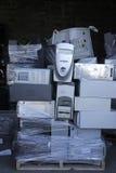 recyling的计算机 库存图片