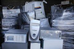 recyling的计算机 库存照片