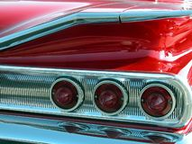 Red 1960 Impala Taillight Royalty Free Stock Images