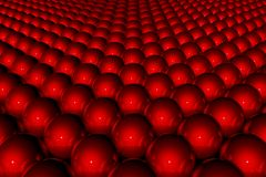 Red 3D abstract background Stock Photo