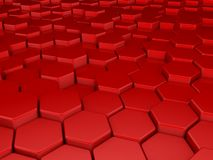 Red 3d background Royalty Free Stock Photography
