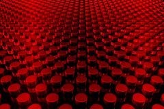 Red 3D background Stock Photos