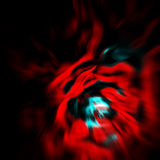 Red. Abstracted background in red and blue stock illustration