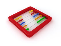 Red abacus Royalty Free Stock Images