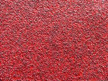 Red abrasive. Paper as background stock photography