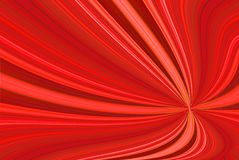 Red Abstract. A computer generated background abstract in brilliant red colors and a curved shape Stock Image