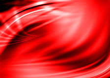 Red abstract. Red asbtract composition with flowing design Stock Image