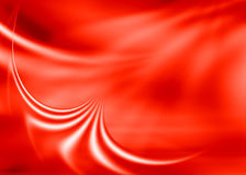 Red abstract. Red asbtract composition with flowing design Stock Photography
