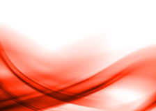 Red abstract. Red asbtract composition with flowing design stock illustration