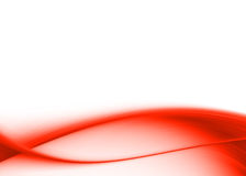 Red abstract. Red asbtract composition with flowing design royalty free illustration