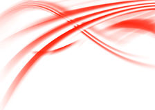 Red abstract. Red asbtract composition with flowing design Royalty Free Stock Images