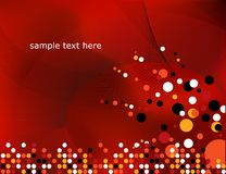 Red Abstract backdrop. Stock Photo