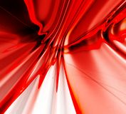 Red abstract background. Red 3D rendered abstract background Royalty Free Stock Photography