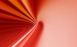 Red abstract background. Red 3D rendered abstract background Royalty Free Stock Image