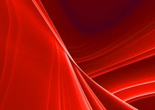 Red abstract background. Red 3D abstract background (fantasy,abstract background Royalty Free Stock Photos