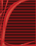 Red abstract background. Red abstract with striped background royalty free illustration