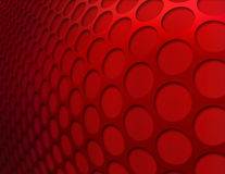 Red Abstract Background. Red metallic abstract circle pattern Royalty Free Stock Image