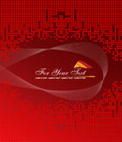 Red abstract background Royalty Free Stock Photography