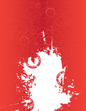 Red abstract background. With place for your text Royalty Free Stock Image