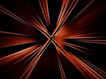 Red abstract background. Red abstract vortex background stock illustration